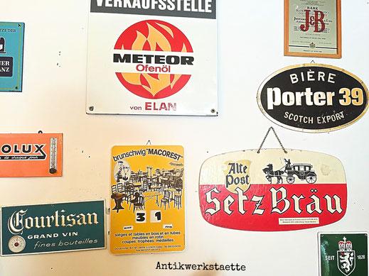 signboard Setz Braeu