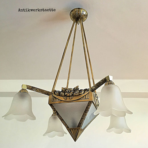 Art Nouveau pendant light