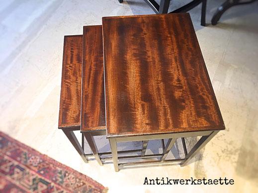 Art deco nesting table