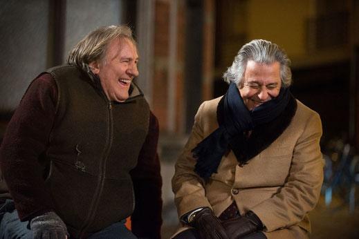 photo de gerard depardieu et christian clavier