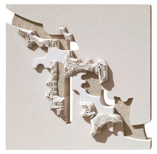 Marina Battistella - Presenze cm 80 x 100 tecnica mista su tela