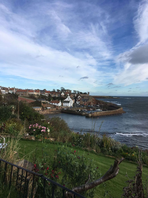 Crail, Fife Coastal Path, in October
