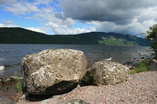 Licht und Schatten an Loch Ness
