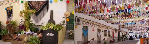 Programa y cartel de la Fiesta de la Cruz en Montilla