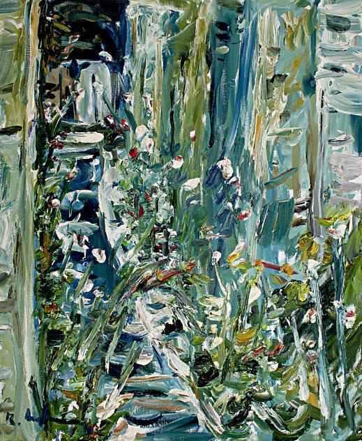 Garten Le Fort   2010, Öl auf LW, 46 cm 55 cm