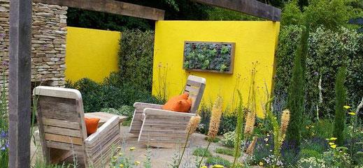 Création jardin aix en provence