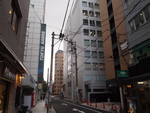 変なホテル・大阪心斎橋の前面道路