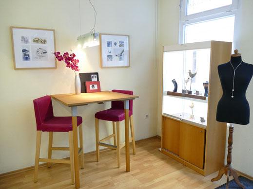 Goldschmiede Atelier Werkstatt Verkaufsraum