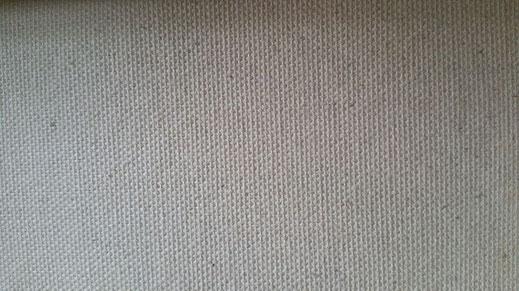 Schildersdoek, katoen, schering en inslag, goede kwaliteit 350 gram per m2