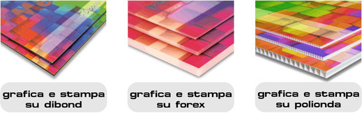 DADE professional consult Bolzano grafica e stampa su dibond forex polionda