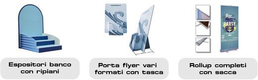 DADEpc Bolzano totem ed espositori pubblicitari in cartone con grafica e stampa