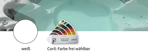 Farbauswahl für die Whirlwanne