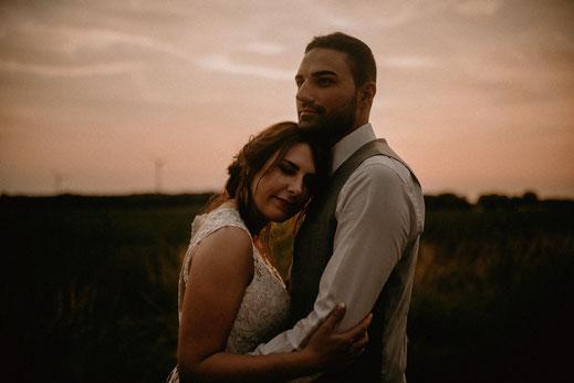 Greenery Wedding, Bohohochzeit, Sunsetshooting, moodywedding, moody