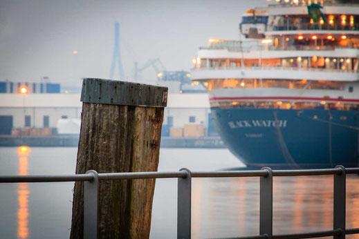 Holz Hafen Hamburg Schiff Kreuzfahrt Reise Wasser
