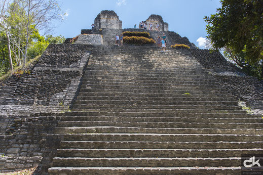 Maya Tempel Dzibanché, Mexico (Nikon D810, März 2017)