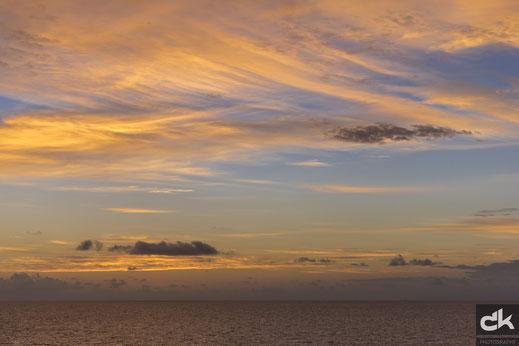 Sonnenaufgang vor Belize