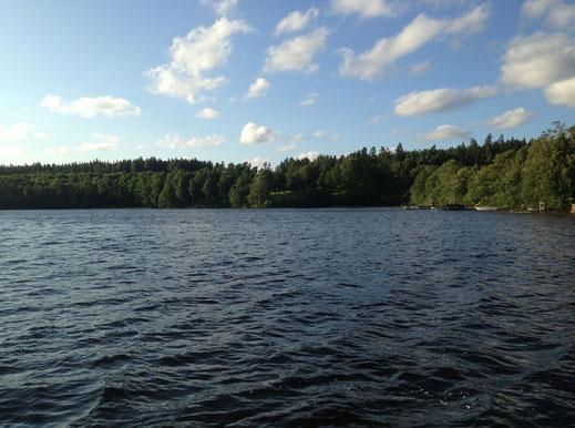 Ferienhaus in Schweden am See, mit Boot, günstig, billig