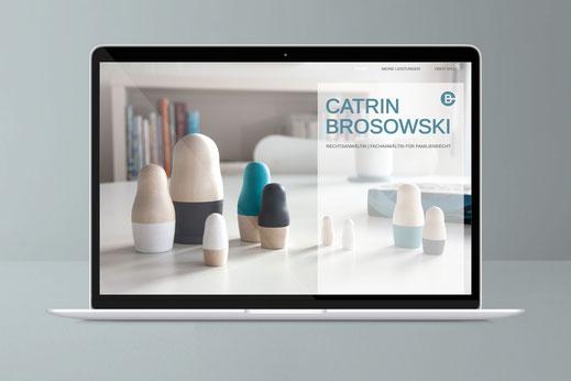 Web und UI Design: Catrin Brosowski, Fachanwältin Hamburg , von Andreas Ruthemann