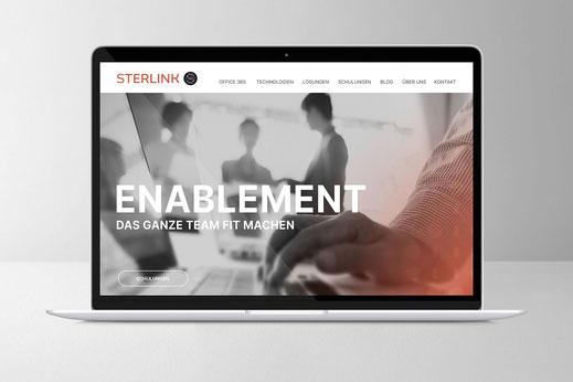 Web und UI Design: Sterlink , von Andreas Ruthemann