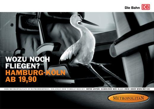 Metropolitan Plakat Kampagne, Art Direktion Andreas Ruthemann