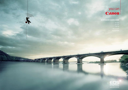 canon EOS Digital Printkampagne, Art Direktion Andreas Ruthemann