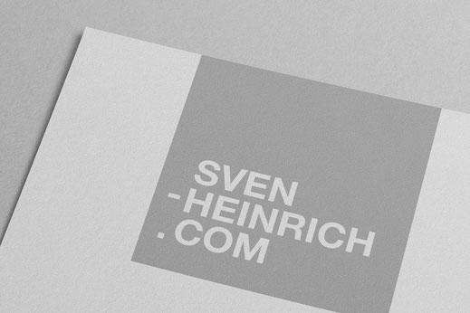 Logo Design: Sven Heinrich Fotograf, von Andreas Ruthemann
