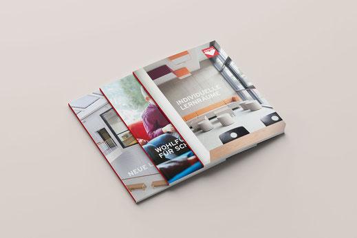 Literatur, Kataloge und Broschüren Design: ASS Einrichtungssysteme, von Andreas Ruthemann