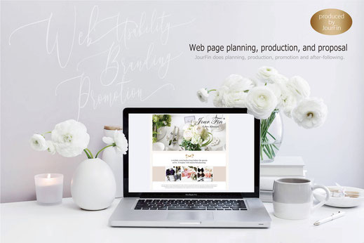 JourFin ブランドロゴ ロゴ ショップロゴ ロゴデザイン ホームページ webデザイン