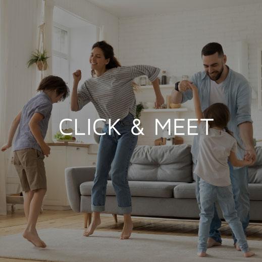 MÖBELLOFT Click an Meet für individuelle Beratung im Showroom zu moderner Einrichtung Möbeln und Möbeln auf Maß