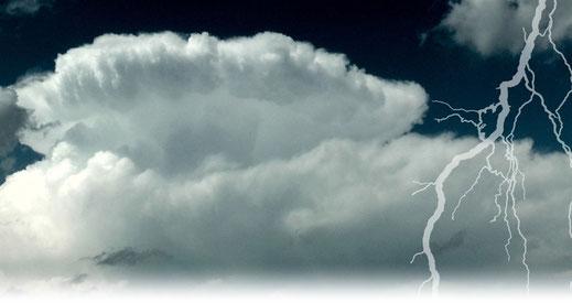 © Welt der Synoptik | Gewitteramboss über München.