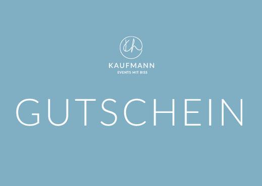 Gutschein Kochkurs bei KAUFMANN Events mit Biss