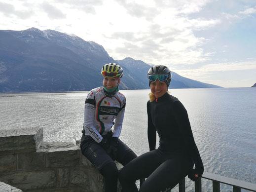ÖAMTC Radclub Tirol Petra Huter Anna Huter Anina Jenal Radsport Regionalsport Gardase Kroatien Nationalteam Sonne