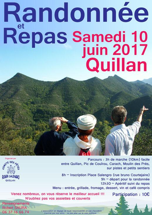 Randonnée Quillan