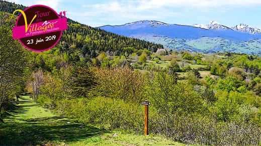 Tour des Villages en Pyrénées Audoises - Le Madres