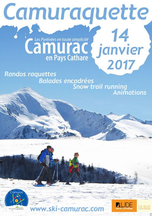 Camuraquette 2017 - Journée raquettes à Camurac