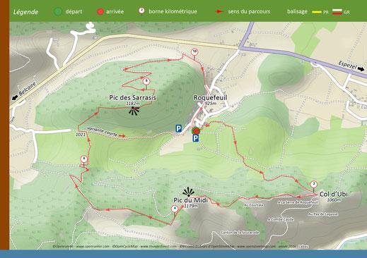 Pic des Sarrasis - Randonnées Pyrénées Audoises