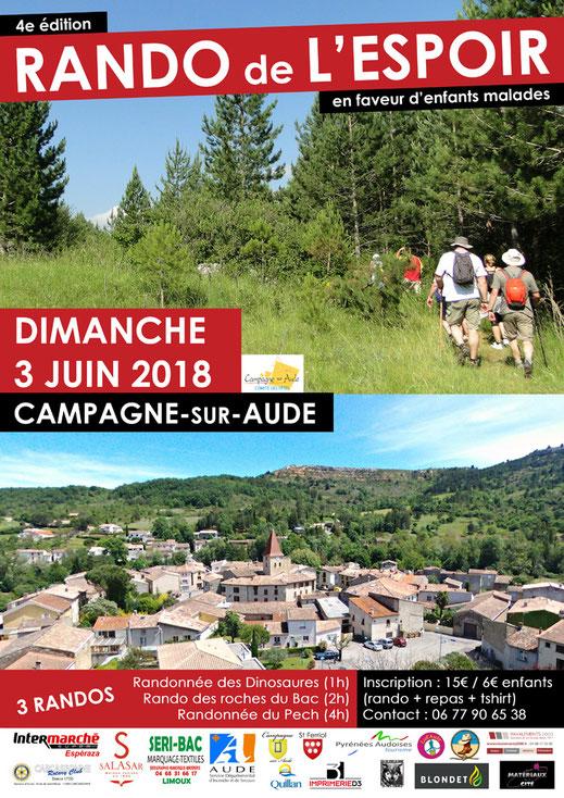 Rando de l'Espoir - Capagne sur Aude