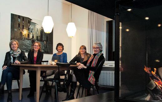 Verwaltungsrat (v.l.n.r.): Carola Scotoni Berger, Irène Wyss, Irène Meier (Präsidentin), Gisela Heim, Jeanne Pestalozzi