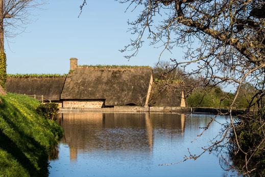 Wassermühle, Cotentin, Val de Saire, Normandie