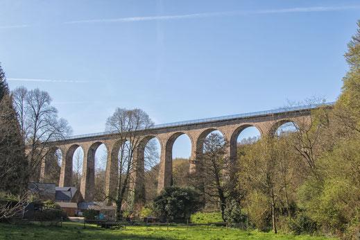 Viadukt, Sal de Vaire, Normandie, Cotentin