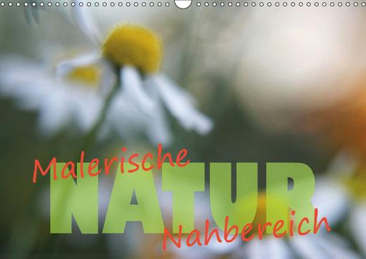 Valerie Forster, Kalender, Calvendo, Cover, Malerische NATUR - Nahbereich