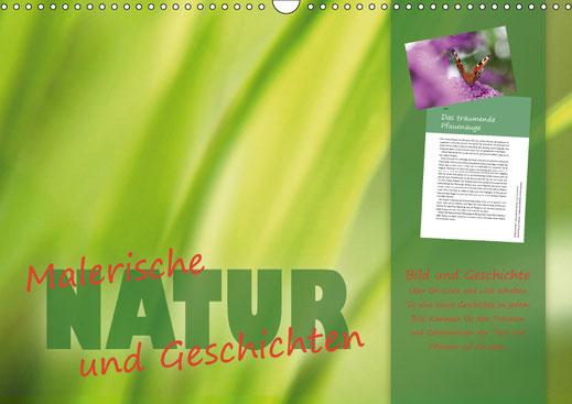 Valerie Forster, Kalender, Calvendo, Cover, Malerische NATUR und Geschichten