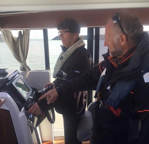 Coaching bateau moteur