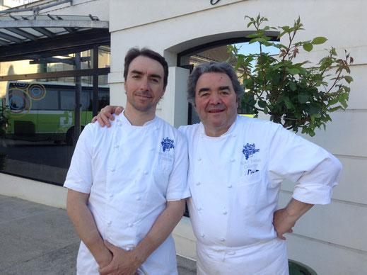 La Promenade Maison Dallais - Restaurant gastronomique en Touraine - 1 Étoile Michelin - Chefs de père en fils