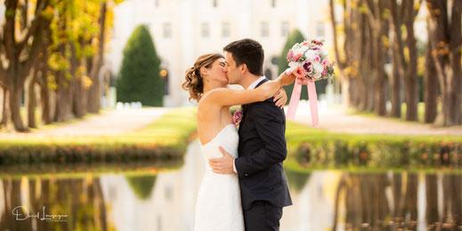 Photographe de mariage dans l'oise; le val d'oise; et ailleurs; photo de mariés à l'Abbaye de Royaumont