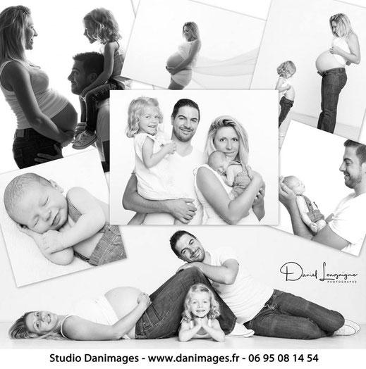 2 Shooting grossesse et bébé -Studio Danimages oise