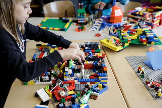 Die Legowerkstatt im Mittagsband