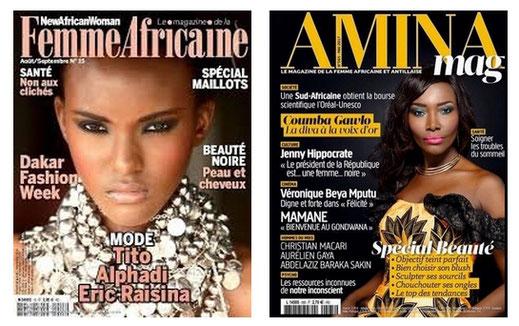 les magazines qui parlent du voyant africain a Paris