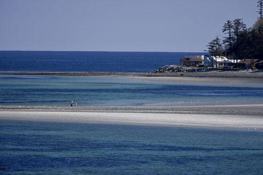 Kye bay ocean views just outside of Comox.