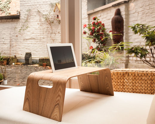 Bild: Laptoptisch, Notebooktisch, Betthalterung ipad und tablet,
